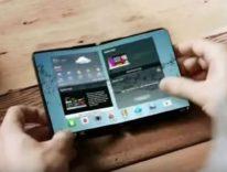 Così potrebbe funzionare Galaxy X, lo smartphone pieghevole Samsung