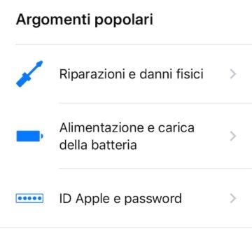 supporto apple 2 6