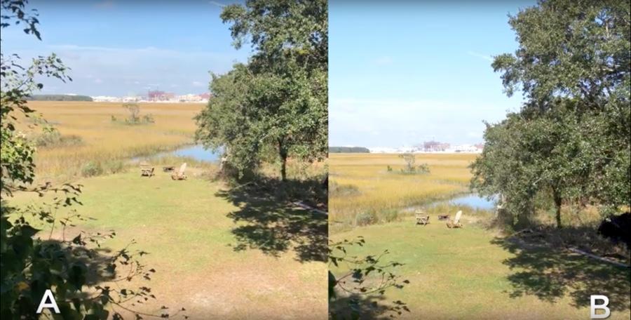 video iphoe x contro Panasonic GH5 2