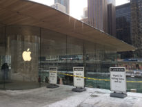 Apple Store Chicago problema neve