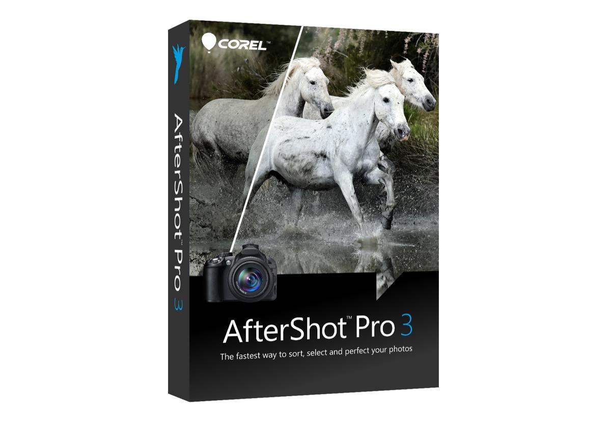 solo 5 $ per corel aftershot pro 3, alternativa a lightroom