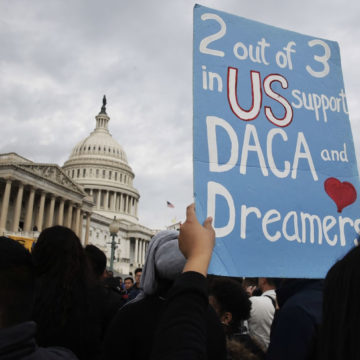 Manifestazione a supporto del Deferred Action for Childhood Arrivals (DACA) - Foto:Jacquelyn Martin/AP