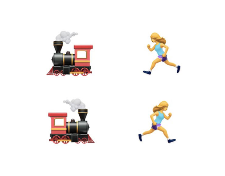 Emoji specchiate