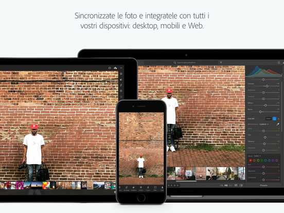 Lightroom CC per iPad e iPhone