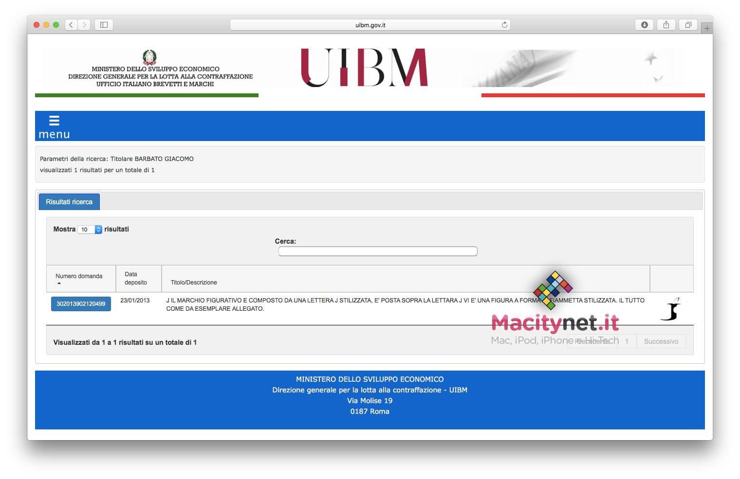 """La registrazione del marchio """"Steve Jobs"""" registrato"""