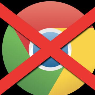 No a Chrome