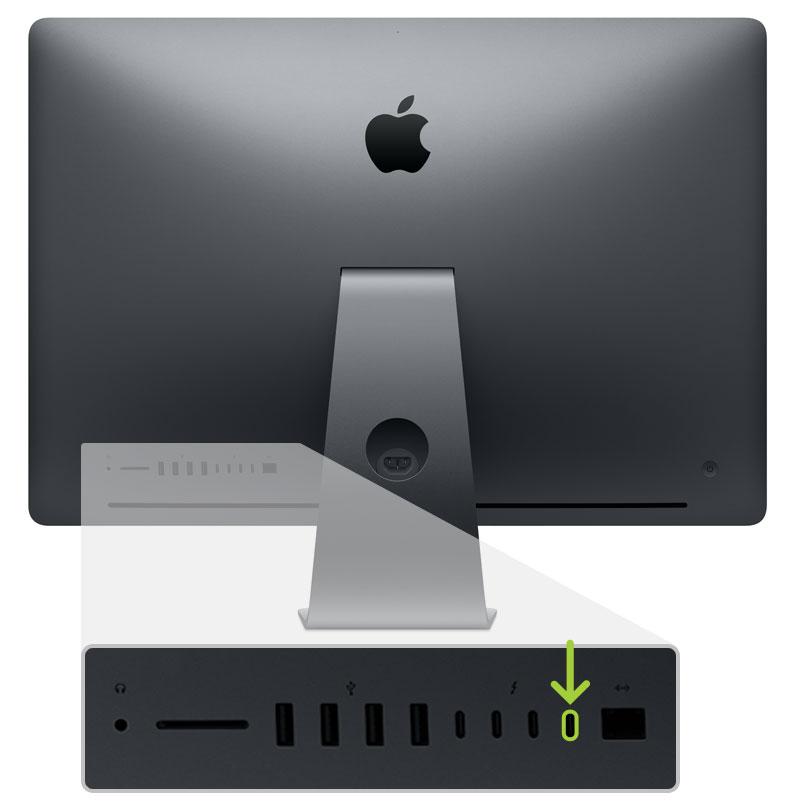 Porta USB-C iMac Pro