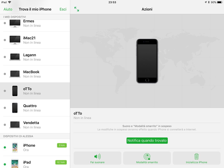 Servizi alternativi per scoprire se l'iPhone è rubato