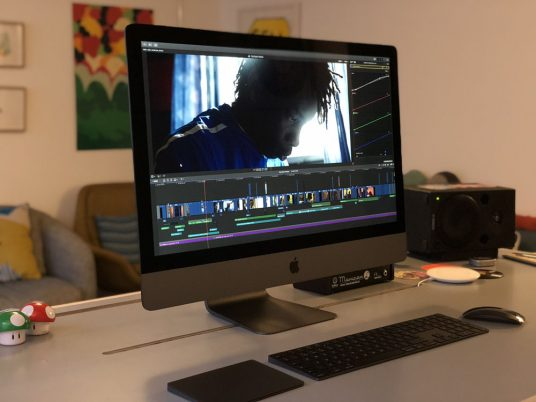 Trim Editing su iMac Pro