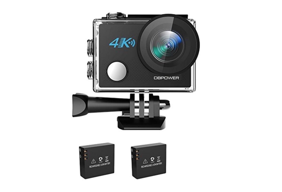 8fe0236f7887f3 Quella di DBPower è un'action camera che offre WiFi, ripresa in 4K e zoom  5X: grazie ad un nostro codice potete pagarla solo 48,99 euro spedizione  compresa.