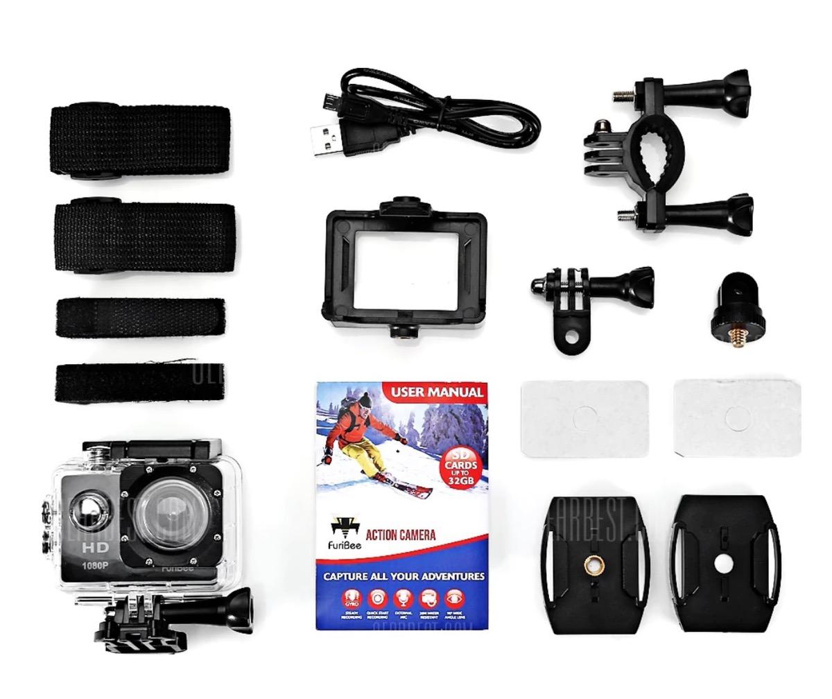 action camera accessori