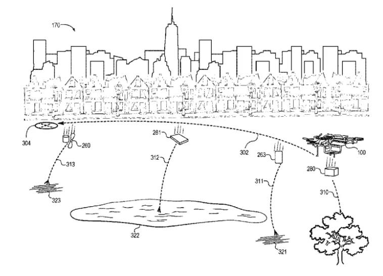 amazon drone autodistrugge