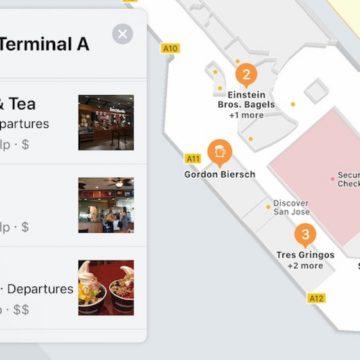 mappa aeroporto