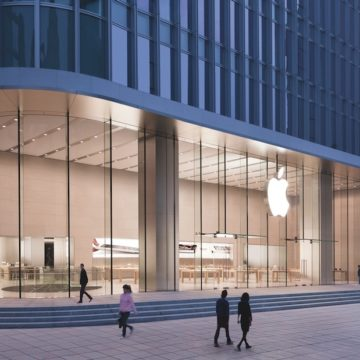 Un Apple Store in Cina