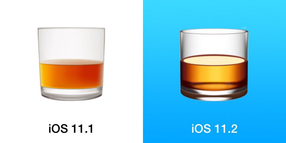 emoji in ios 11.2