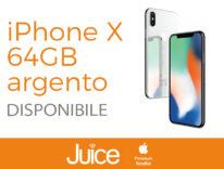 juice iPhone X 64GB ARGENTO