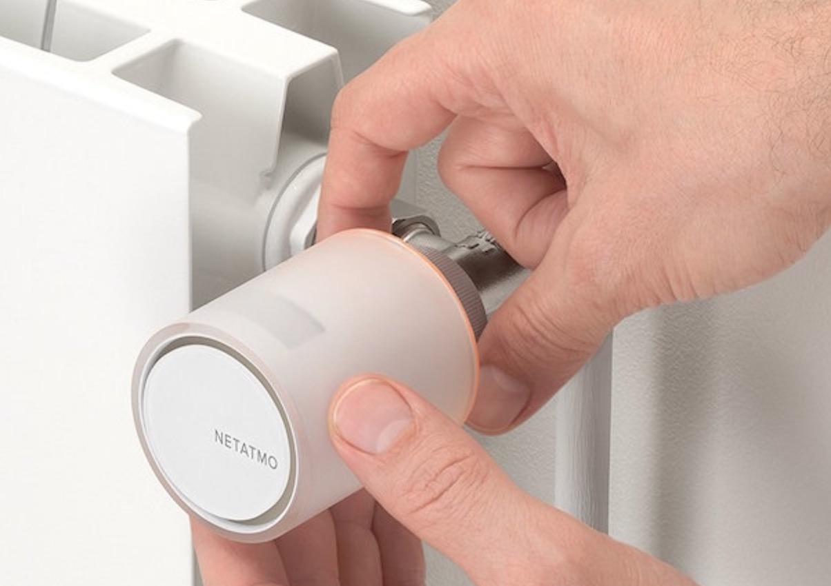 valvole termostatiche smart netatmo