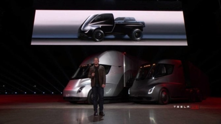 pick-up Tesla elettrico 1