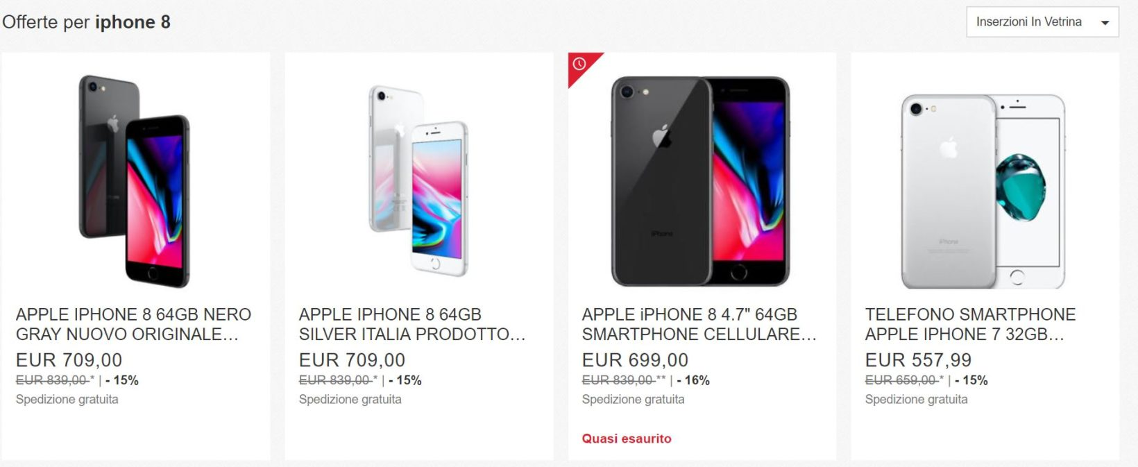 sconto iPhone