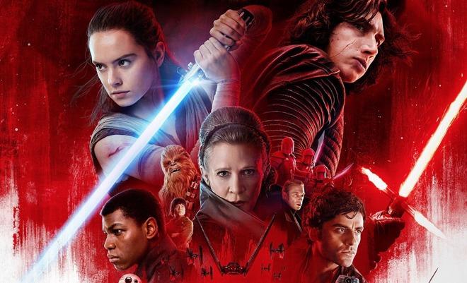 star wars gli ultimi jedi è al cinema