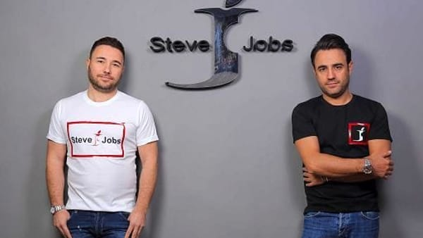 Steve jobs brand made in Naples