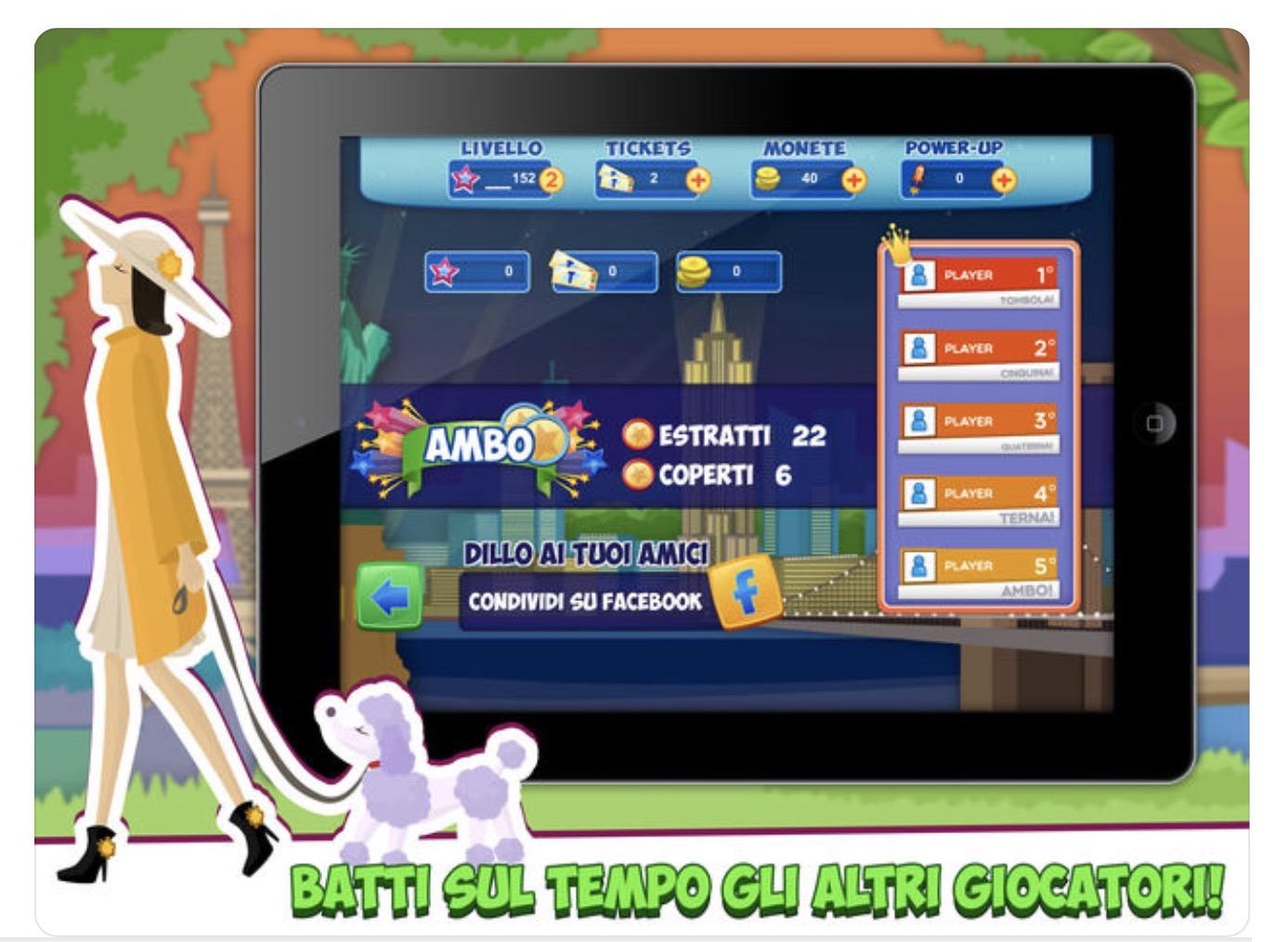 Le App per la Tombola su iPhone, iPad, Mac e Apple TV