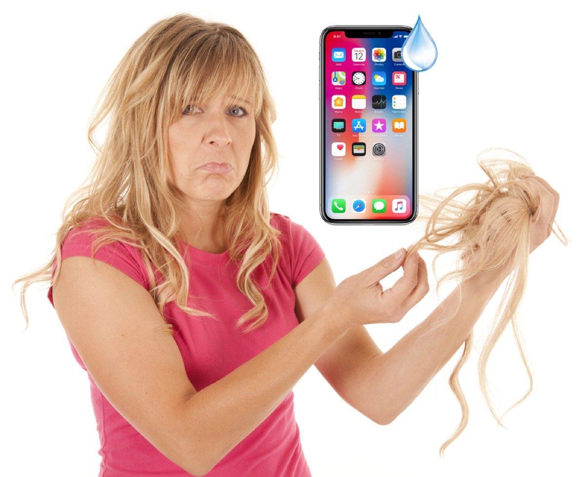 iphone x capelli