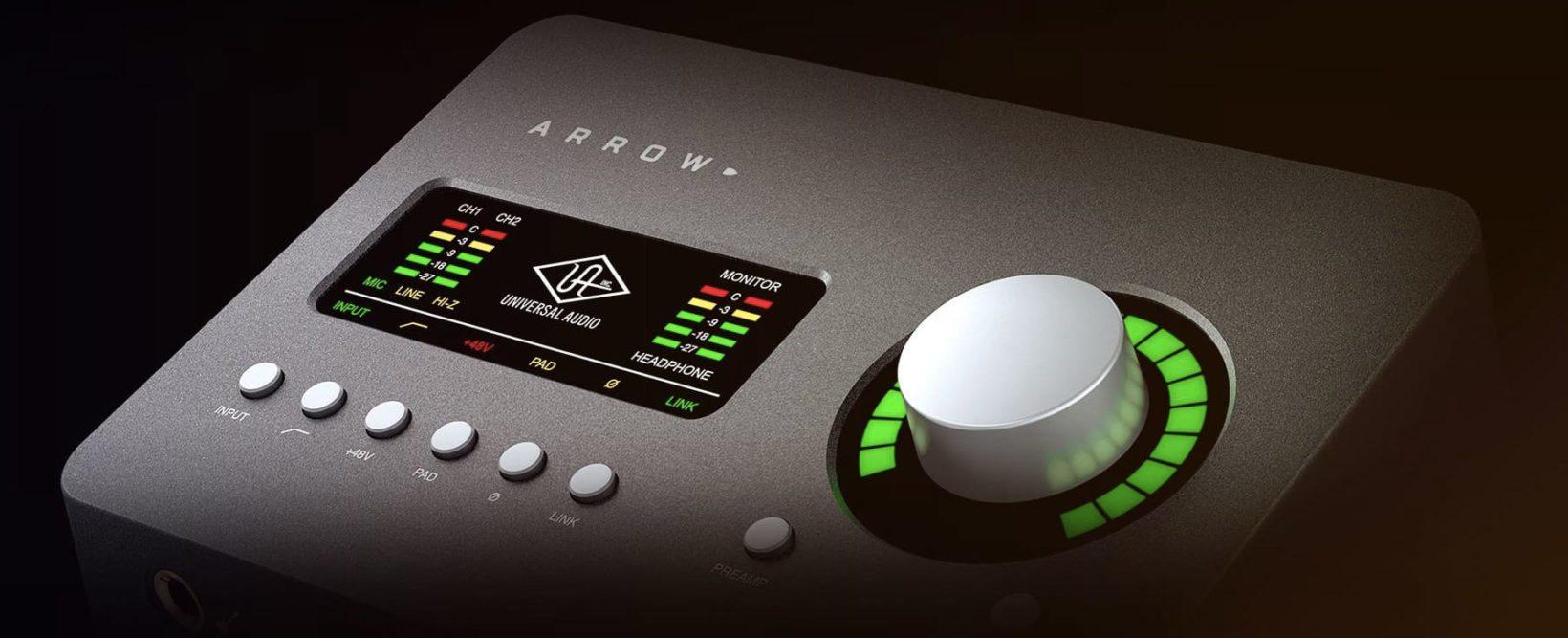 interfaccia audio Thunderbolt 3 - foto Arrow Thunderbolt 3