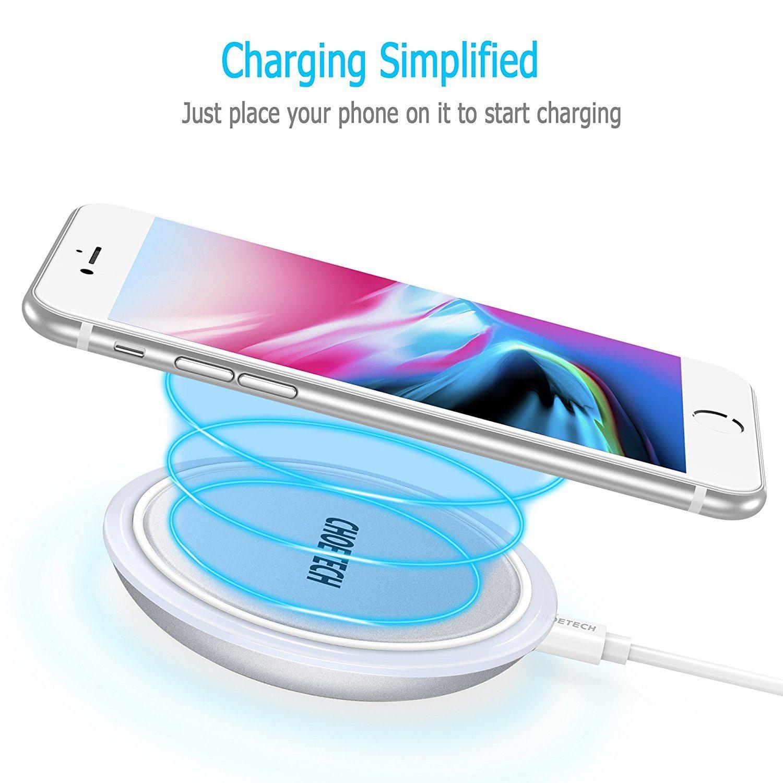 Caricatore Wireless per iPhone 8 e iPhone X e smartphone compatibili