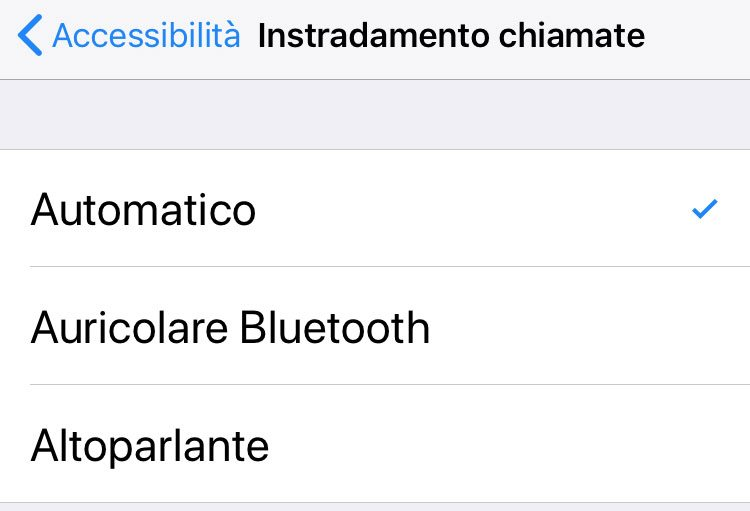 Telefonare con iPhone
