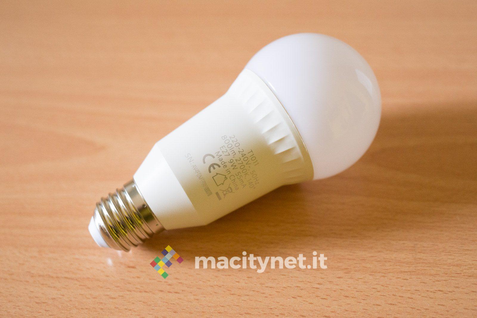 Recensione Eufy Lumos Smart Bulb
