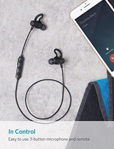 Auricolari Bluetooth Anker per palestra
