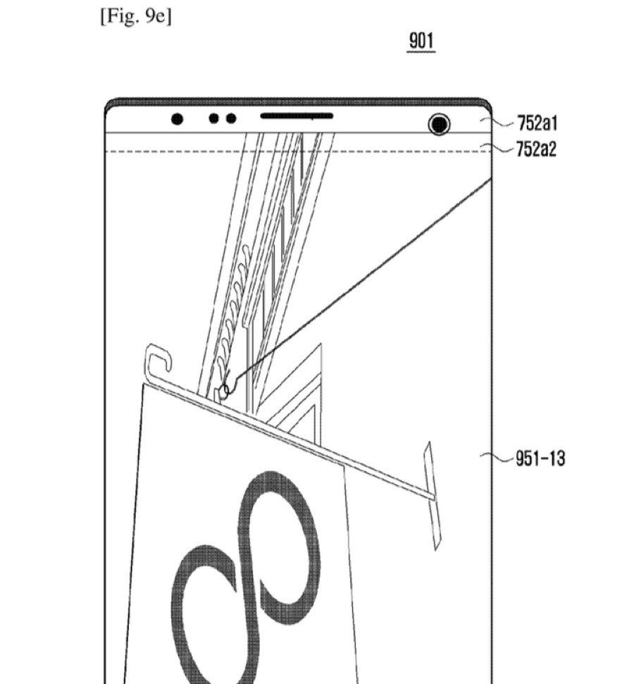brevetto samsung lunotto iPhone x 2