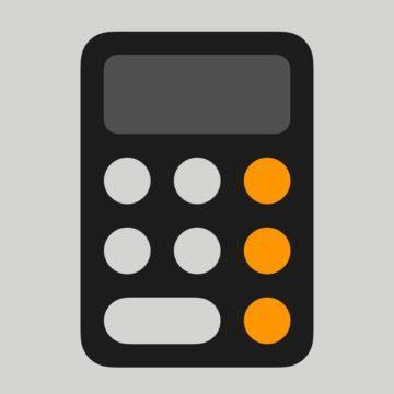 calcolatrice ios icon 900