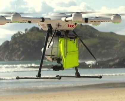 drone salva vita