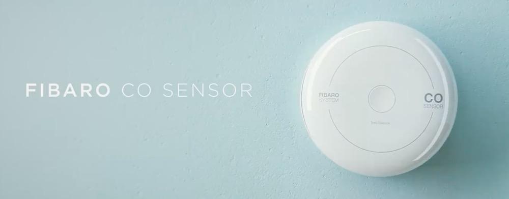 monossido di carbonio e casa smart fibaro CO sensor
