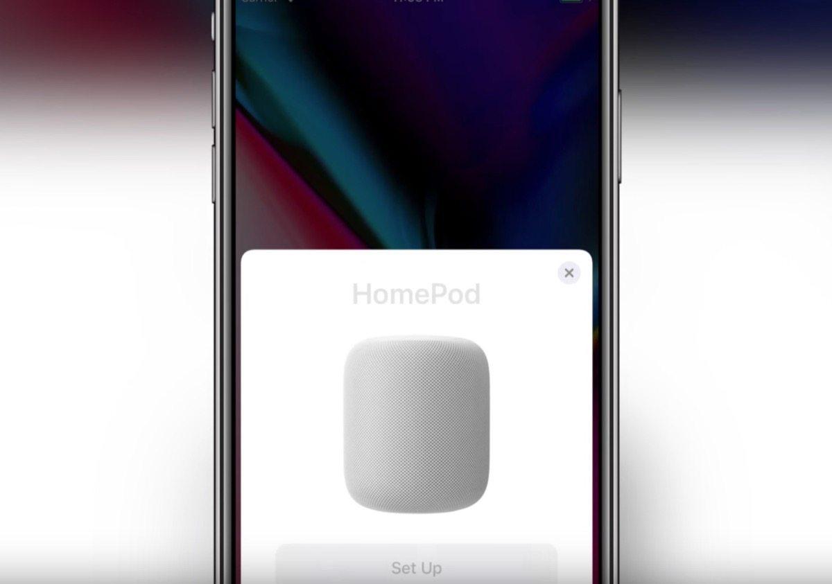 come configurare HomePod