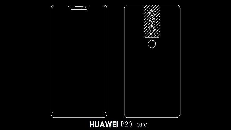 huawei p20 - foto schema con tripla fotocamera