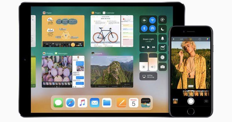 ios 12 - foto iOS 11 iphone e ipad