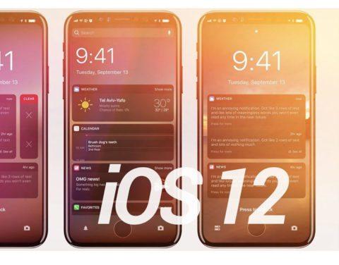 wwdc 2018 iOS 12