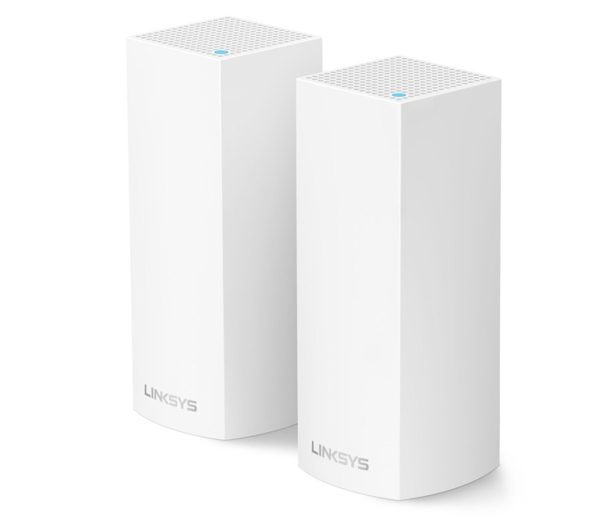 fine di airport , foto router Linksys Velop