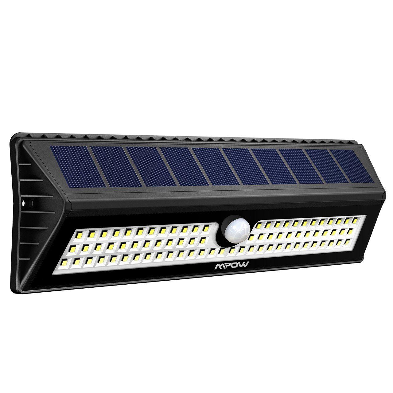Lampada led da esterno con ricarica solare accensione al - Specchi riflettenti luce solare ...