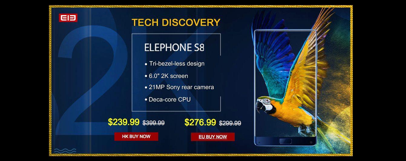 offerte elephone coolicool