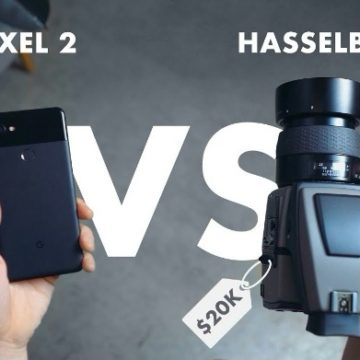 pixel 2 vs hasselblad