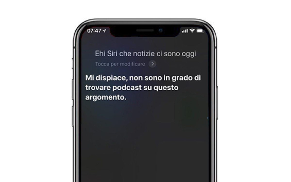 siri podcast news