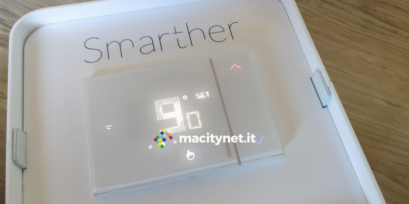 Recensione Termostato Smarther Bticino X8000 Bello E