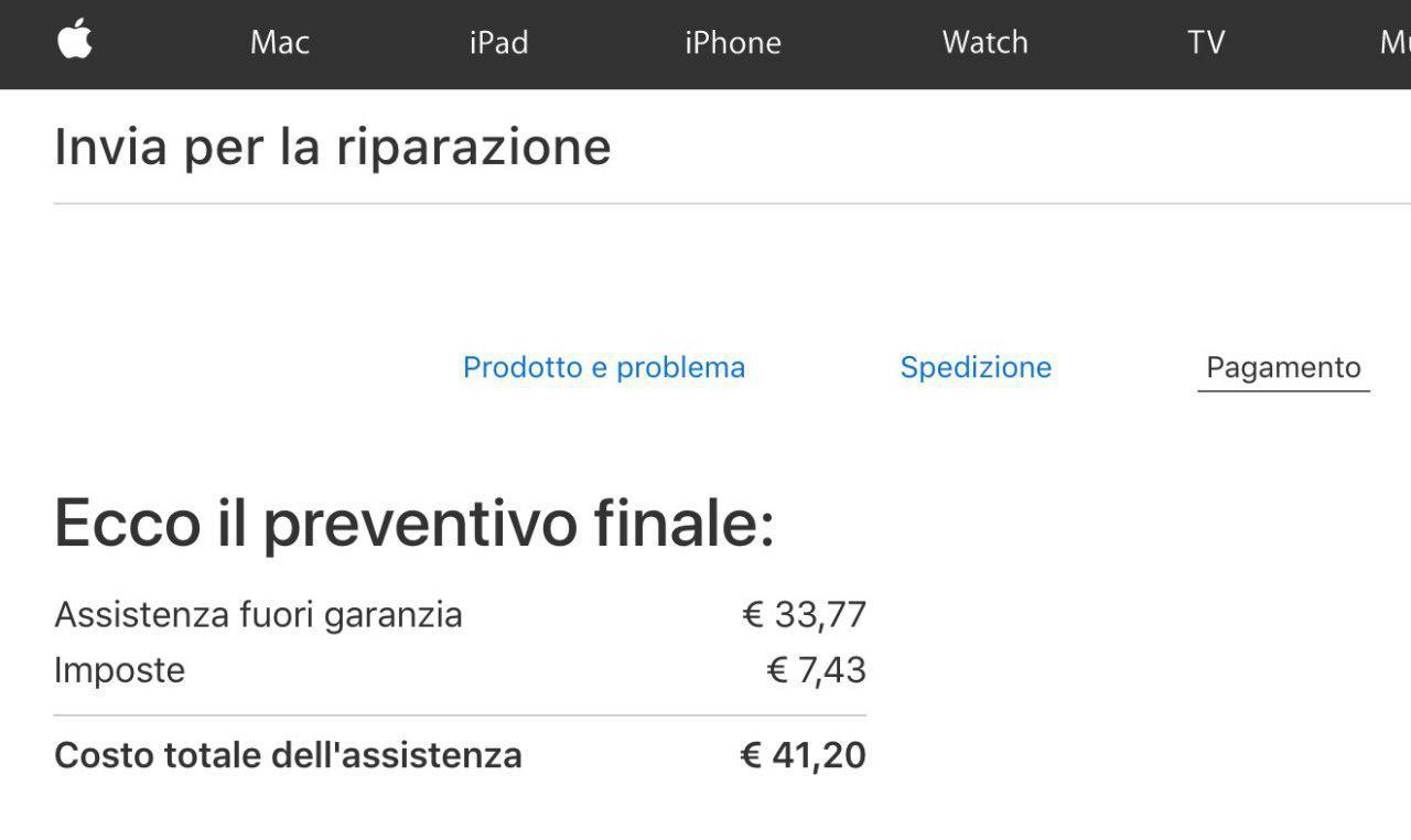 Sostuire la batteria di iPhone fuori garanzia a 29 euro