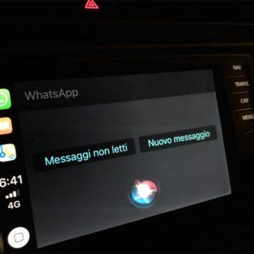 whatsapp carplay ita 1
