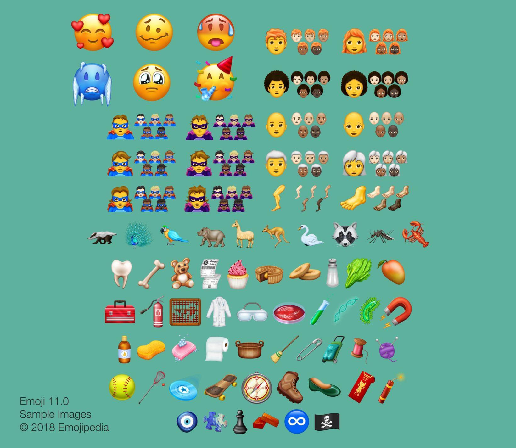157 nuove emoji 11 2