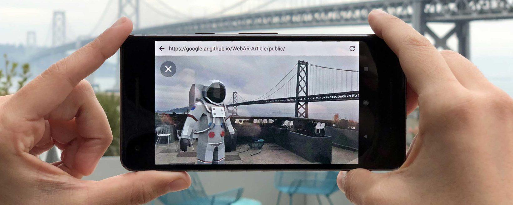 Esempio funzionamento ARCore - Realtà Aumentata di Google